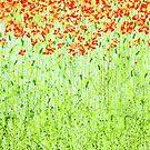 Spring Arabesque Ipad Case by Herb Dickinson