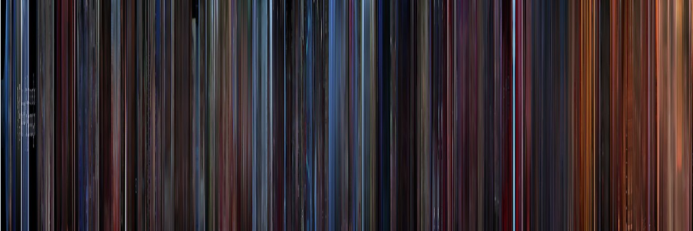 Moviebarcode: Star Trek III: The Search for Spock (1984) by moviebarcode