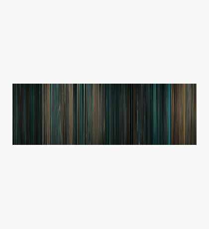 Moviebarcode: Live Free or Die Hard (2007) Photographic Print