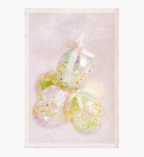 Sparkly Eggs Photographic Print