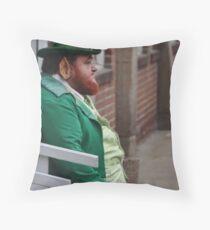 Lucky Leprachaun Throw Pillow