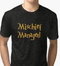Mischief Managed Shirt Tri-blend T-Shirt