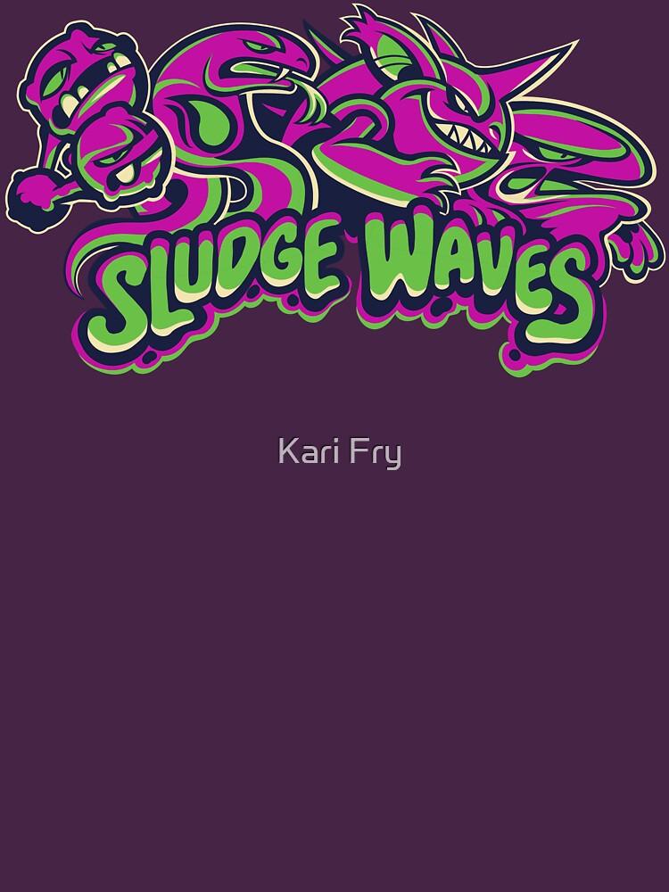 Poison Types - Sludge Waves by misskari