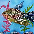 Pearl Gourami by Laura Barbosa