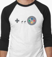 SNES Pad Men's Baseball ¾ T-Shirt