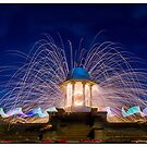 chattri monument light painting 2 by martbarras