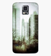 Vintage City View Case/Skin for Samsung Galaxy