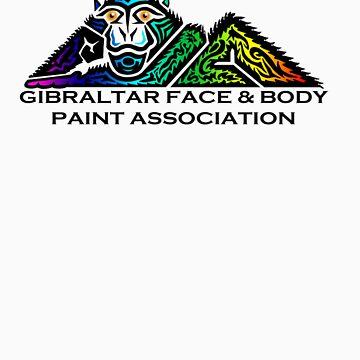 Gibraltar Face & Body Paint Association by CerberusAzdin