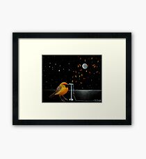 Chatting the Night Away Framed Print