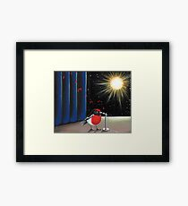 Hello SpaceBoy Framed Print