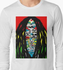 Rasta Skeletons Long Sleeve T-Shirt