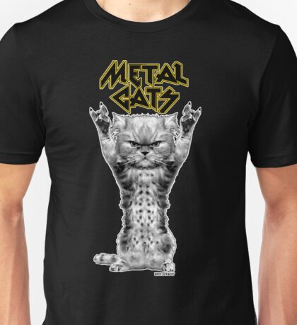 metal cats Unisex T-Shirt