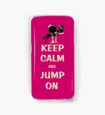 Keep Calm and Jump On Horse iPhone, iPod or iPad Case Samsung Galaxy Case/Skin
