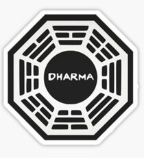 LOST: Dharma Logo Sticker
