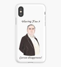 Carson Disapproves!  iPhone Case/Skin