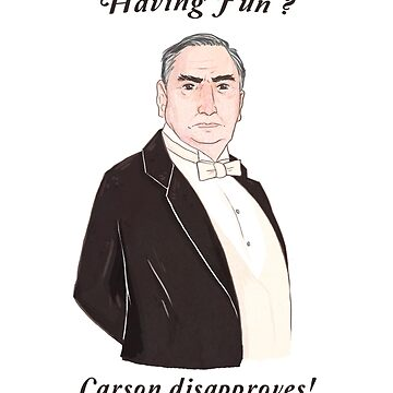 Carson Disapproves!  by sarcochrane