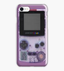 Gameboy Purple iPhone Case/Skin