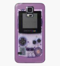 Funda/vinilo para Samsung Galaxy Gameboy Purple