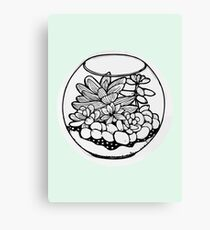 Fred the Succulent Canvas Print