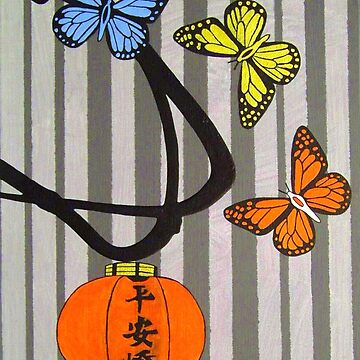 Butterfly Lantern by Charlie-R