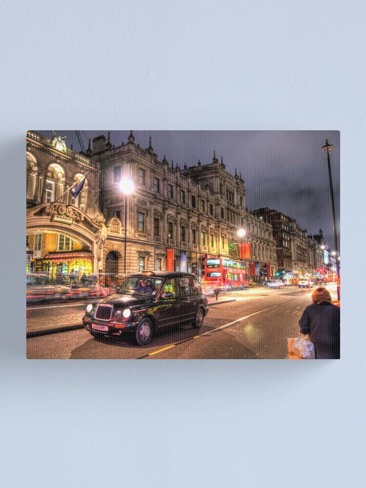 Alternate view of Taxi Canvas Print