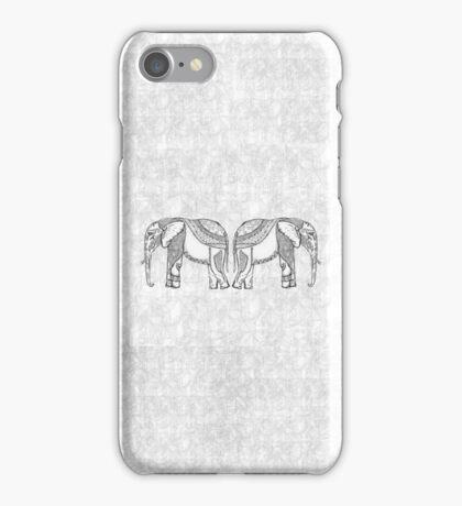 Indian Elephants iPhone Case/Skin