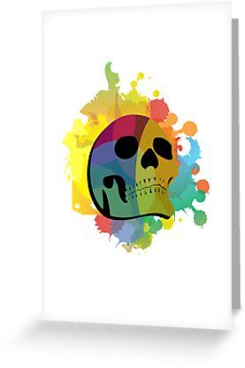 Skull White by volkandalyan