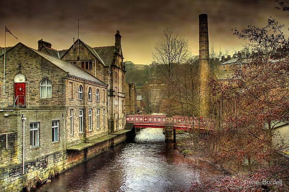 The Red Bridge.  by Irene  Burdell