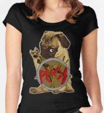 slayerpug Women's Fitted Scoop T-Shirt