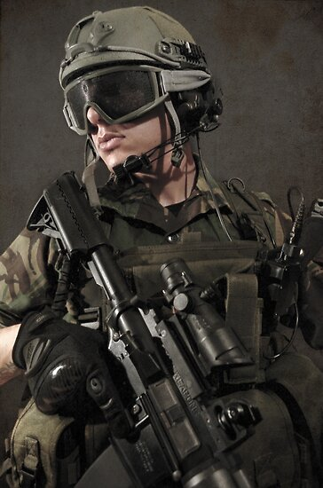 PORTRAIT OF A SOLDIER by Rob  Toombs