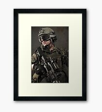 PORTRAIT OF A SOLDIER Framed Print