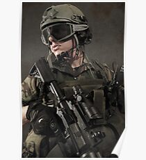 PORTRAIT OF A SOLDIER Poster