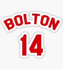 High School Musical: Bolton Jersey Sticker