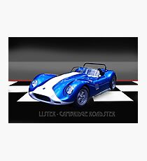 Lister - Cambridge Roadster Photographic Print