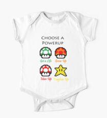 Mario Mushrooms Kids Clothes