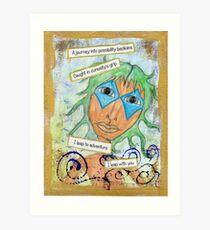 The Fool, Curious Adventurer  Art Print