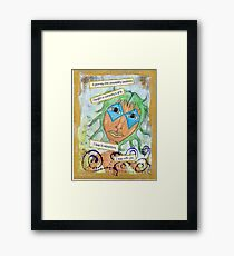 The Fool, Curious Adventurer  Framed Print