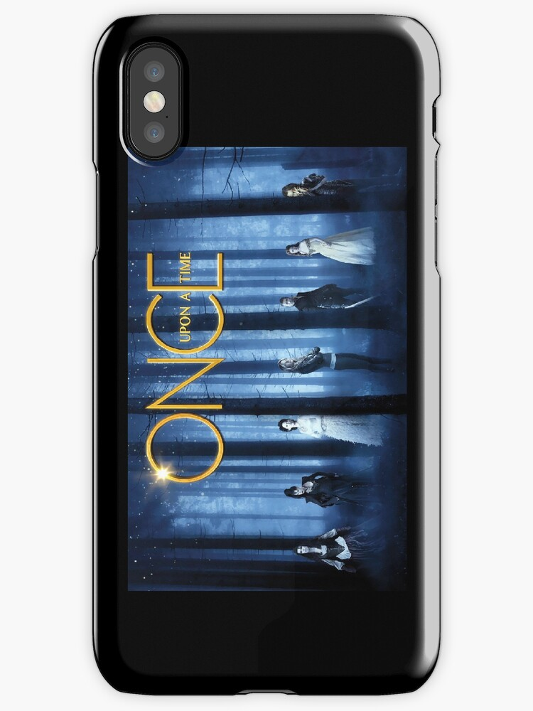 Once Upon A Time iPhone Case by kat1903