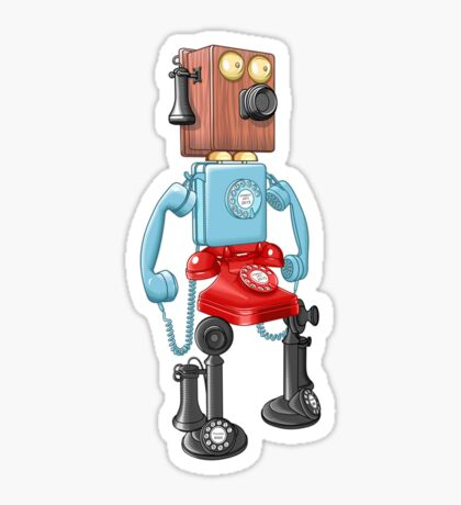 Smartphone Bot 8000 Sticker