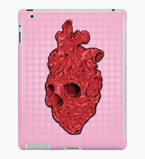 Skullentine Pink, by ARTmuffin iPad Case/Skin