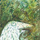 Green Birds Green by RelyeaArts