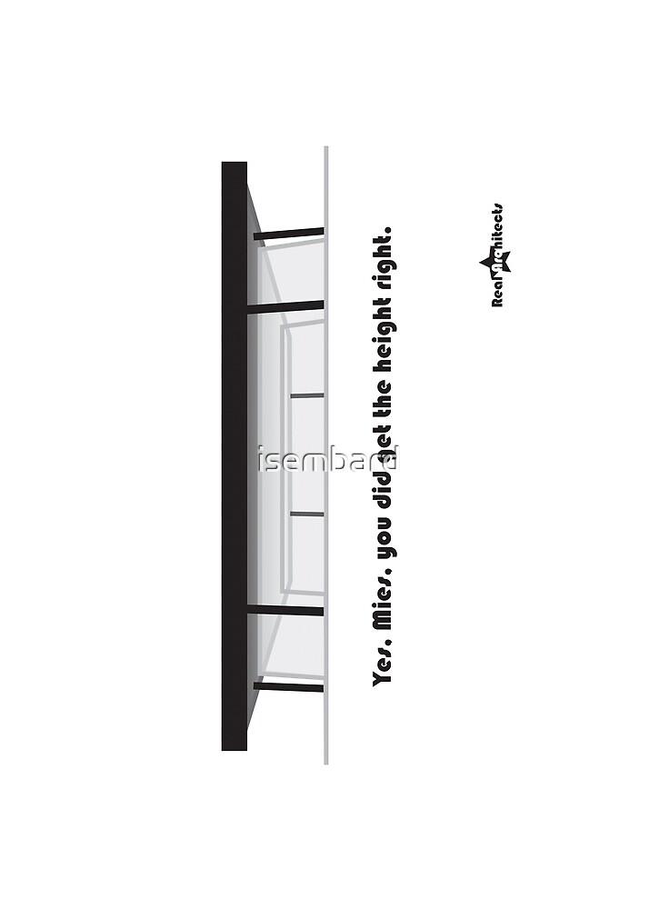 Mies - Berlin National Gallery print by isembard