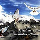Psalm 107:14 by CheyenneLeslie Hurst