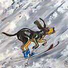 Winter Hound by Ellen Marcus