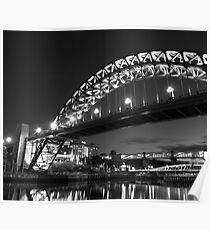 Mono Tyne Bridge Poster
