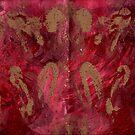 FRENZY IN RED MANDALA by karen66