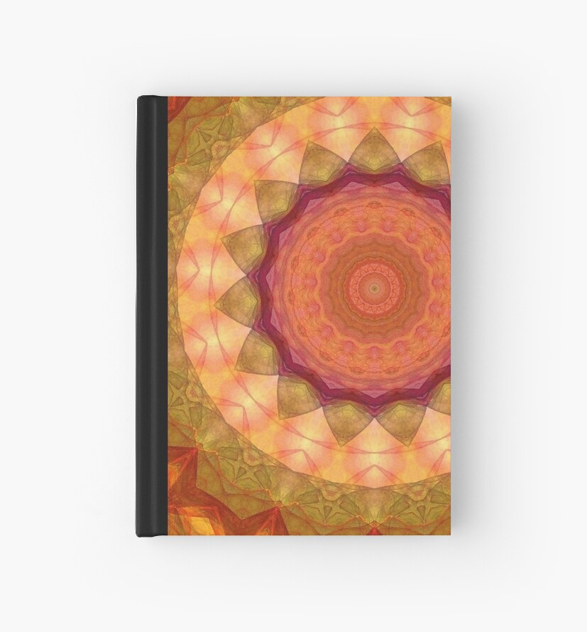Orange Spiral-Available As Art Prints-Mugs,Cases,Duvets,T Shirts,Stickers,etc by Robert Burns