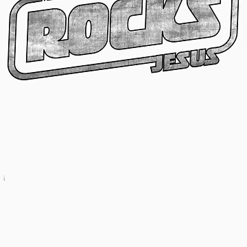 Metal Jesus Rocks - GUN METAL LOGO by metaljesusrocks
