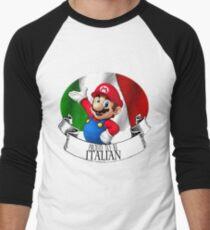 Proud to be Italian Men's Baseball ¾ T-Shirt