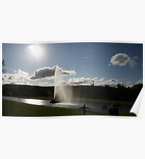 Chatsworth Fountain Poster